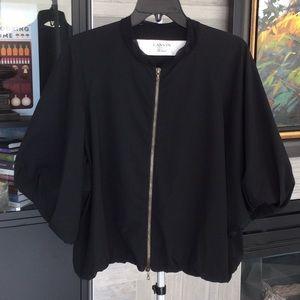 Lanvin fabric bomber jacket